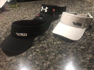 3 under armour visors brand new for Sale in Parkland, WA