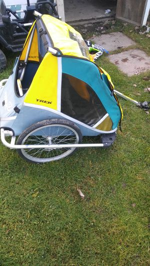 Trek child bicycle trailer for Sale in Taylor, MI