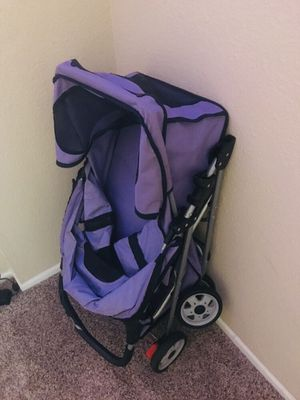 Purple stroller for dogs for Sale in Newport Beach, CA