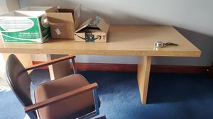 Conference room table and chair for Sale in North Canton, OH