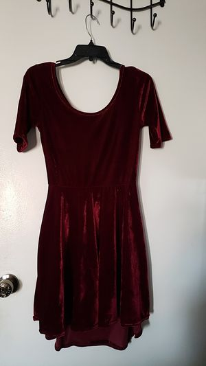 Velvet Open Back Dress Size M for Sale in Moreno Valley, CA