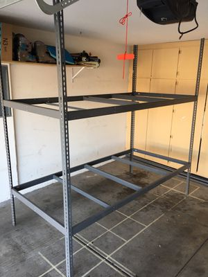 Heavy Duty racks in Bolt-less commercial grade shelves for Garage and Container Storage - Dimensions: H8 8ft, length 8ft, Width 4ft 2 available for Sale in Las Vegas, NV