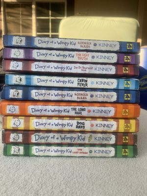 Diary of a Wimpy kid books for Sale in Fresno, CA