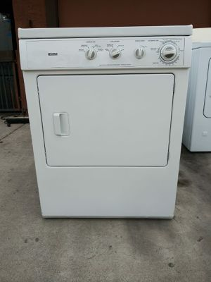 White Kenmore GAS Dryer front load - 🚚 DELIVERY AVAILABLE for Sale in Las Vegas, NV
