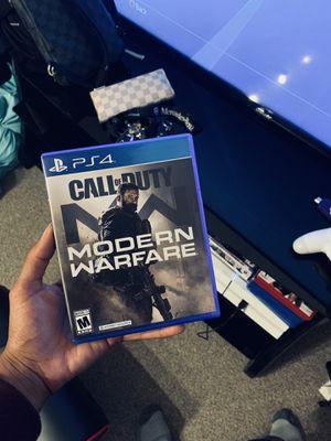 Call of duty modern warfare Ps4 for Sale in Glendale, CA