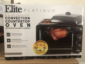 Elite Platinum Toaster/Convection Oven for Sale in Los Angeles, CA