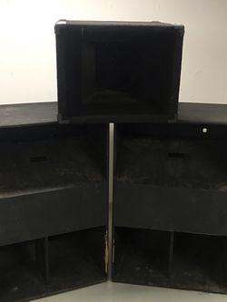 Vintage Speaker Cabinets / Boxes (EMPTY) for Sale in St. Peters,  MO