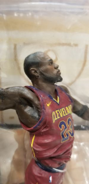 McFarlane Toys NBA Series 31 Lebron James Cleveland Cavaliers Action Figure for Sale in Midvale, UT