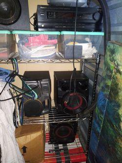 100 Watt Pioneer Receiver, Powered Subwoofer, Speakers for Sale in Mansfield,  TX