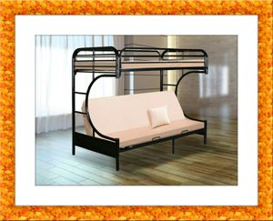Twin futon bunkbed frame free delivery for Sale in Fort Washington, MD