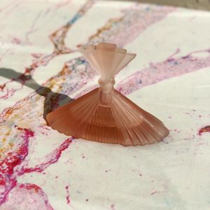 Vintage Art Deco Pink Glass Perfume Bottle for Sale in San Diego, CA