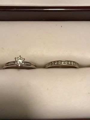 Engagement and wedding ring for Sale in Frederick, MD
