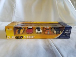 Dub City Jada Toys 5-Deep 1:64 scale Die Cast Metal for Sale in Gilbert, AZ