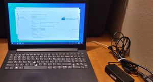 LENOVO IDEAPAD LAPTOP WINDOWS 10 AND CHARGER for Sale in Phoenix, AZ
