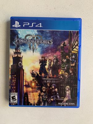 Kingdom Heart 3 for PS4 for Sale in Mesa, AZ
