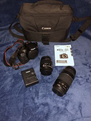 Canon EOS Rebel T6 Kit for Sale in Oak Forest, IL