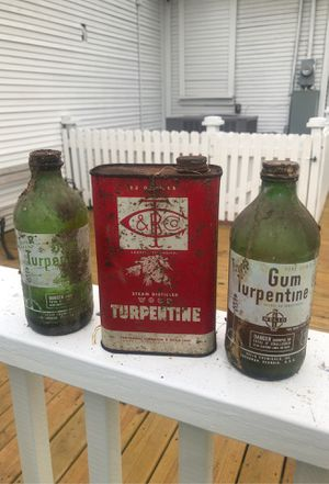 VINTAGE TURPENTINE CANS/BOTTLE for Sale in Tampa, FL