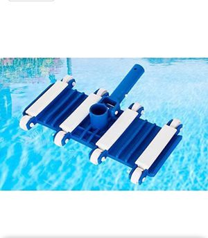 14 Inches Flexible Spa and Pool Vacuum Head with Wheels for for Cleaning Debris of Concrete or Plaster Pool for Sale in Fresno, CA