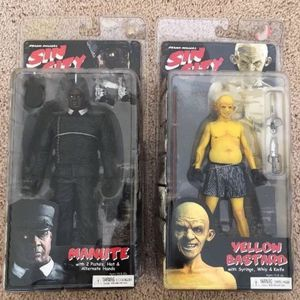 NECA Sin City series 1: Yellow Bastard and Manlite Action Figures- NIB! for Sale in Bothell, WA