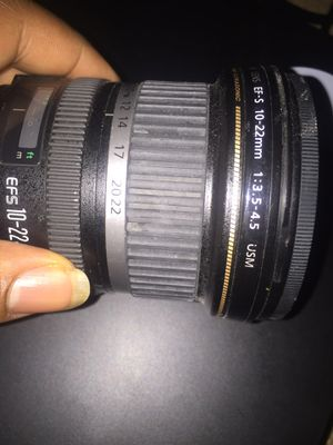 Canon camera lens for sale for Sale in Washington, DC