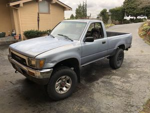 1990 Toyota SR5 3.4 conversion pick-up 4x4 for Sale in Issaquah, WA
