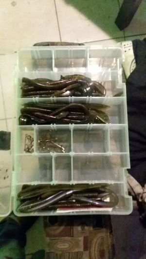 Fishing worms and hooks for Sale in Mesa, AZ