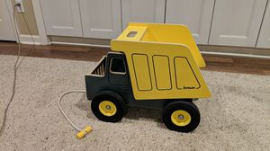 Kids Trux wooden sit on dump truck made locally by Jaxmobilz for Sale in Portland, OR