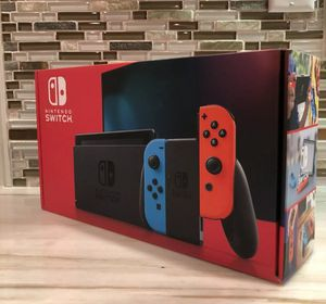 Brand New Nintendo switch neon joycons newest gen for Sale in Bethel Park, PA