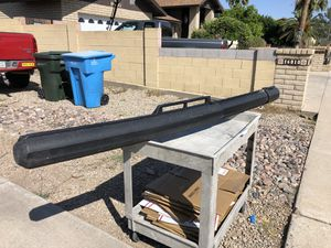 Expandable rod case saltwater bazuka case fishing protects your investment for Sale in Phoenix, AZ