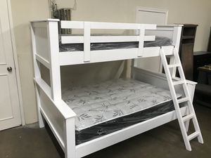 Twin over Full with Mattresses for Sale in Long Beach, CA