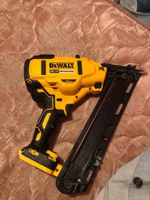 Dewalt finish nailer nail gun for Sale in Atlanta, GA