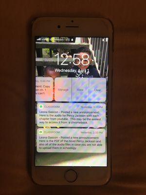 iPhone 6 for Sale in Rancho Cordova, CA