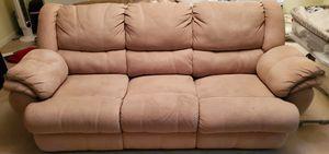 Suede sofa for Sale in Dumfries, VA