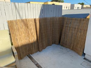 2 BAMBOO FENCES for outdoor area for Sale in Los Angeles, CA