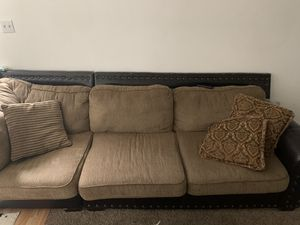 Brown sectional couch for Sale in Denver, CO