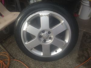 Speed rated tires on Audi 5x100Look! for Sale in Seattle, WA