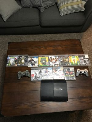 PS3 12 games 2 controls for Sale in Raleigh, NC