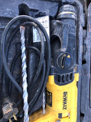 Dewalt hammer drill for Sale in Springdale, AR