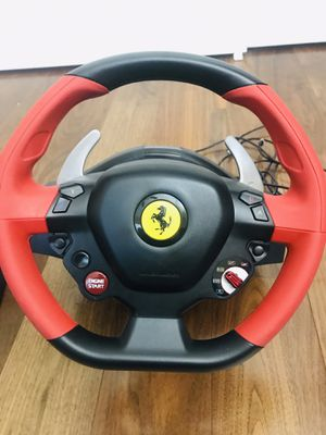 Thrustmaster Ferrari 458 Spider Racing Wheel for Sale in Chandler, AZ
