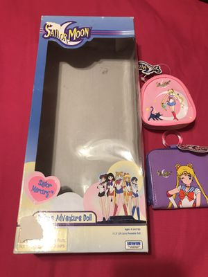 Sailor Mercury Doll Box And Wallet for Sale in Brownsville, TX