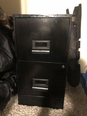 Filing Cabinet (Black) w/Files for Sale in Colorado Springs, CO