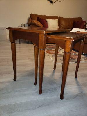 Vintage nesting side tables for Sale in Glendale, AZ