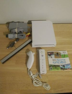 NINTENDO WII and WII SPORTS GAME for Sale in San Diego, CA