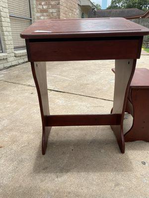 old school desk brown for Sale in Katy, TX