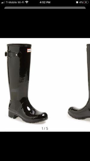 Hunter rain boots size 7M for Sale in Riverside, CA