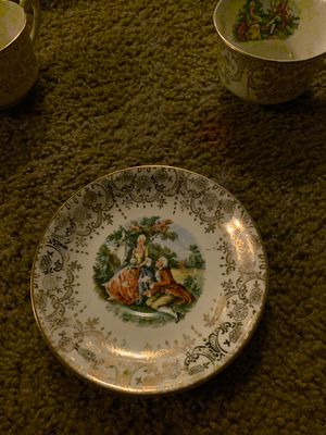 22karat inlay antique China set for Sale in Portland, OR