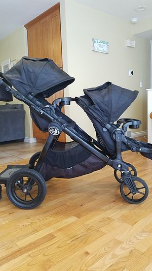 Double city select stroller with accessories! for Sale in Federal Way, WA