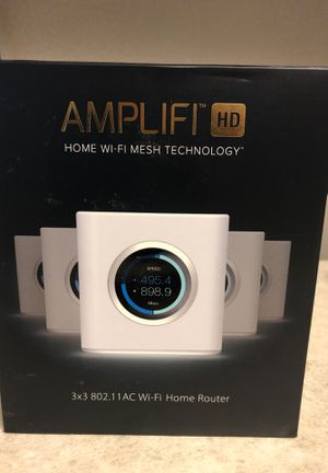 amplifi hd wifi router for Sale in Harrisburg, PA