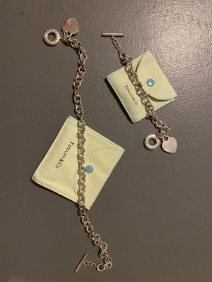 Tiffany Necklace and Bracelet for Sale in Vernon, CT