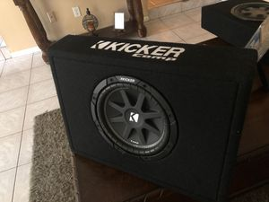 Kicker comp sub subwoofer for Sale in Bell Gardens, CA